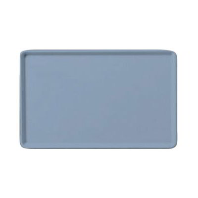 "Carlisle 1520LFG012 Rectangular Cafeteria Tray - Low-Edge, 20-1/4x15"" Sea Spray"