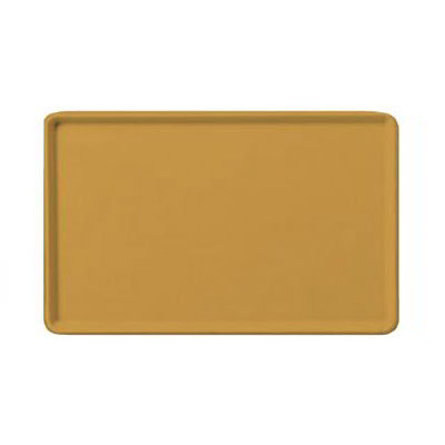 "Carlisle 1520LFG023 Rectangular Cafeteria Tray - Low-Edge, 20-1/4x15"" Gold"