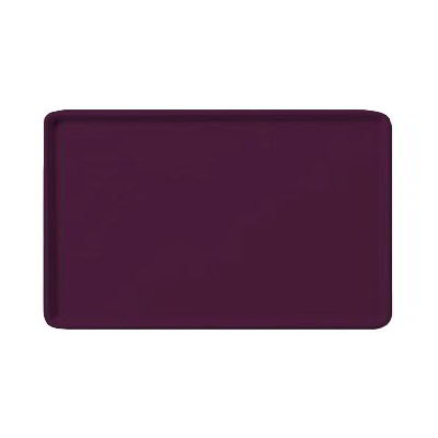 "Carlisle 1520LFG052 Rectangular Cafeteria Tray - Low-Edge, 20-1/4x15"" Amethyst"