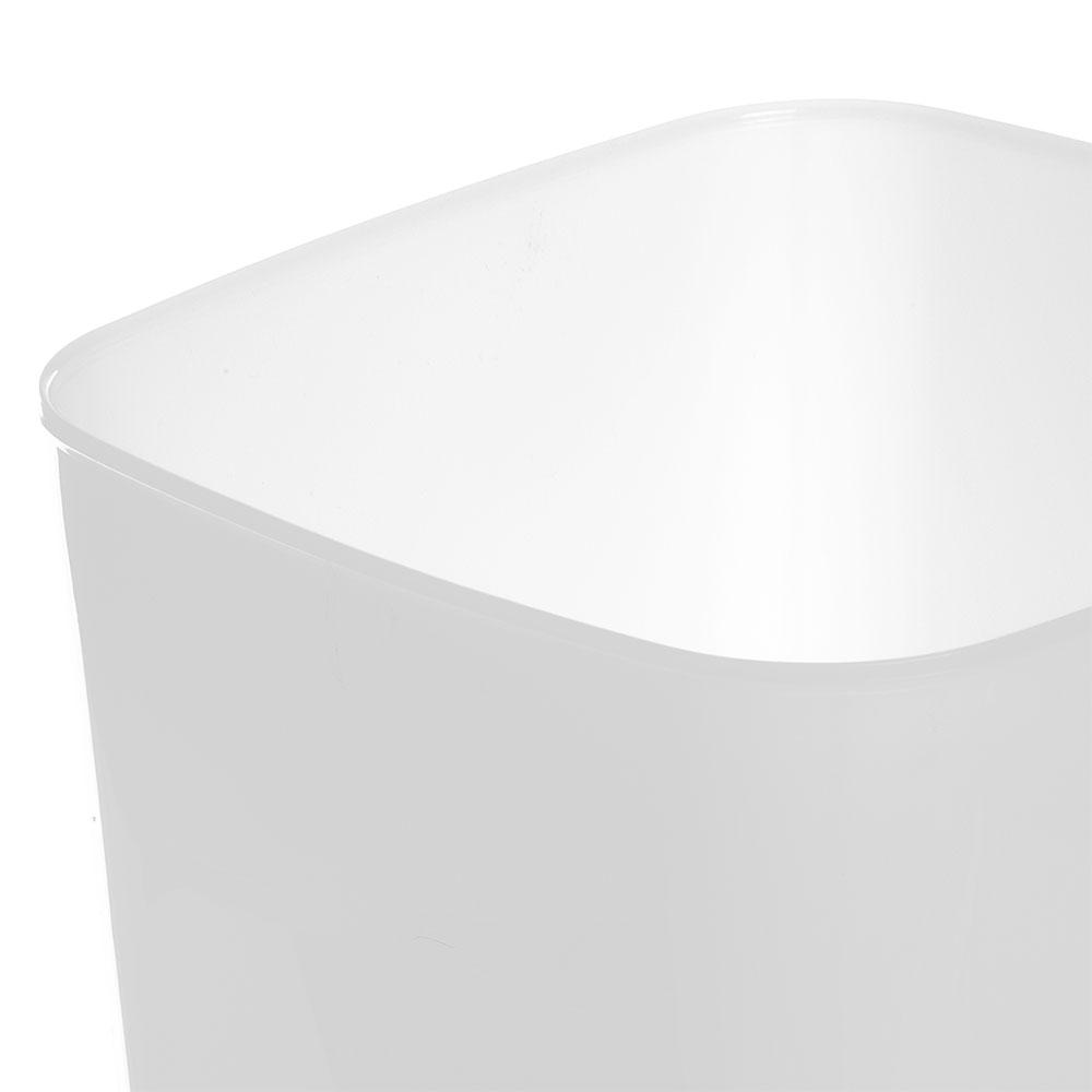 Carlisle 156802 8-qt Square Food Storage Container - White