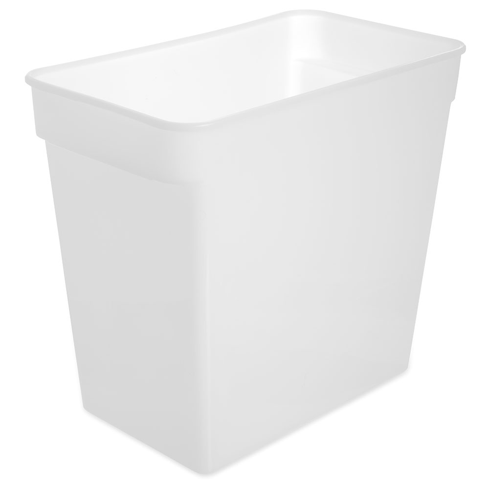 Carlisle 162902 18-qt Square Food Storage Container - White