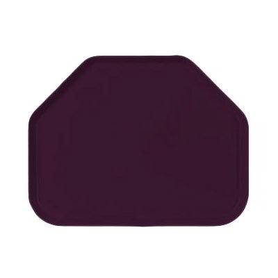 "Carlisle 1713FG052 Trapezoid Cafeteria Tray - 18x14"" Amethyst"