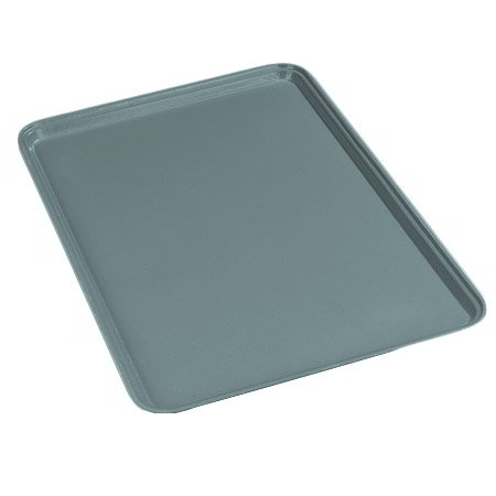 Carlisle 1826FG010 Rectangular Cafeteria Tray - 26x18cm, Forest Green