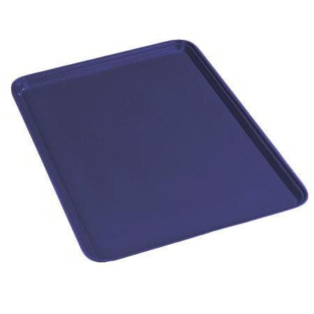 Carlisle 1826FG014 Rectangular Cafeteria Tray - 26x18cm, Cobalt Blue