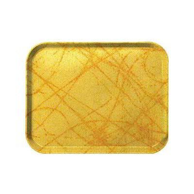 "Carlisle 2015DFG028 Rectangular Cafeteria Tray - 20-1/4x15"" Starfire Gray"