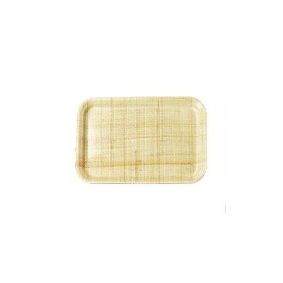 "Carlisle 2015FG003 Rectangular Cafeteria Tray - 20-1/4x15"" Natural"