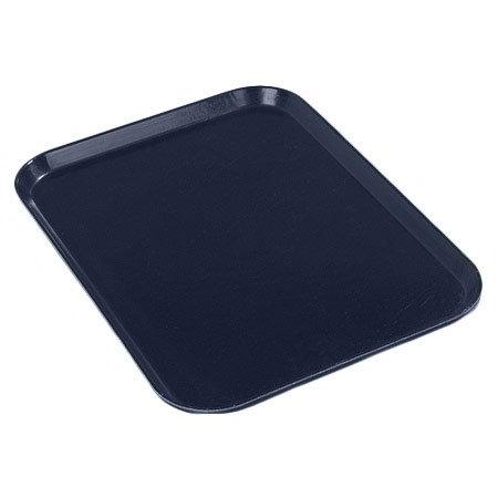 "Carlisle 2015FG005 Rectangular Cafeteria Tray - 20-1/4x15"" Pewter"
