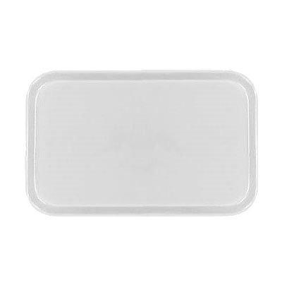 Carlisle 2115FG001 Rectangular Cafeteria Tray - 53x37.5cm, Bone White