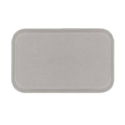 Carlisle 2115FG002 Rectangular Cafeteria Tray - 53x37.5cm, Smoke Gray