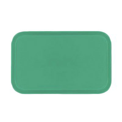 Carlisle 2115FG007 Rectangular Cafeteria Tray - 53x37.5cm, Tropical Green