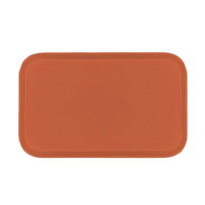 Carlisle 2115FG018 Rectangular Cafeteria Tray - 53x37.5cm, Orange