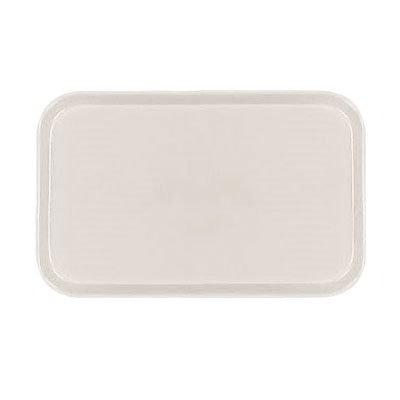 Carlisle 2115FG022 Rectangular Cafeteria Tray - 53x37.5cm, Ivory