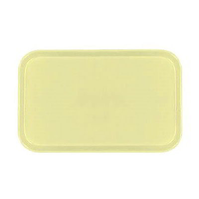 Carlisle 2115FG024 Rectangular Cafeteria Tray - 53x37.5cm, Lemon