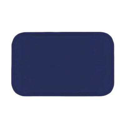 Carlisle 2115FG050 Rectangular Cafeteria Tray - 53x37.5cm, Sapphire Blue