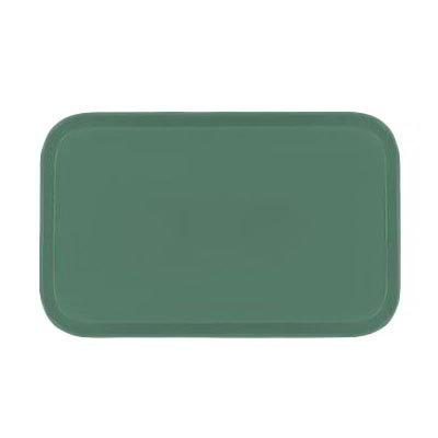 Carlisle 2115FG053 Rectangular Cafeteria Tray - 53x37.5cm, Jade
