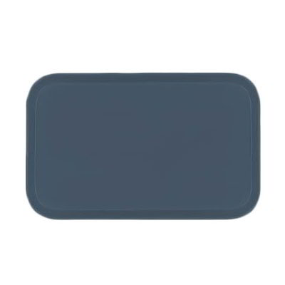 Carlisle 2115FG067 Rectangular Cafeteria Tray - 53x37.5cm, Slate Blue