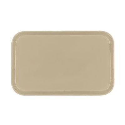 Carlisle 2115FG095 Rectangular Cafeteria Tray - 53x37.5cm, Almond
