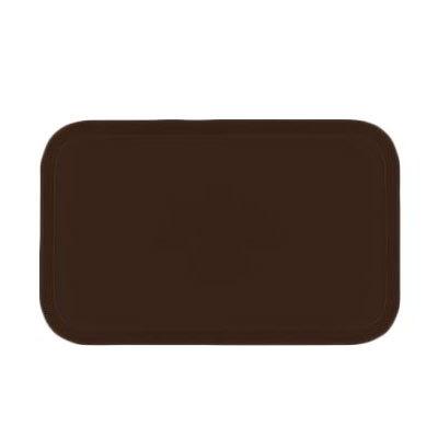 Carlisle 2115FG127 Rectangular Cafeteria Tray - 53x37.5cm, Chocolate