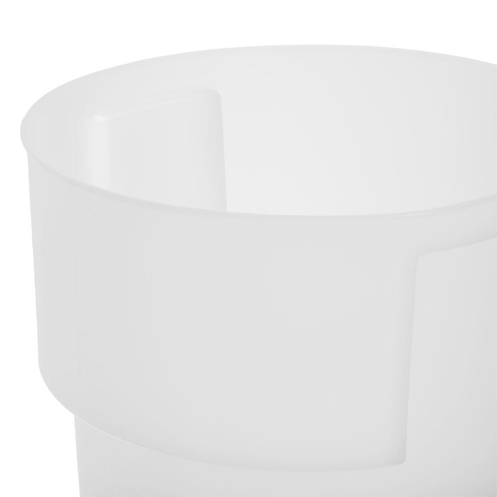 Carlisle 220002 22-qt Round Bain Marie Container - White