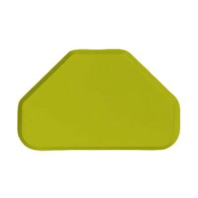 "Carlisle 2214FG008 Trapezoid Cafeteria Tray - 22x14"" Avocado"