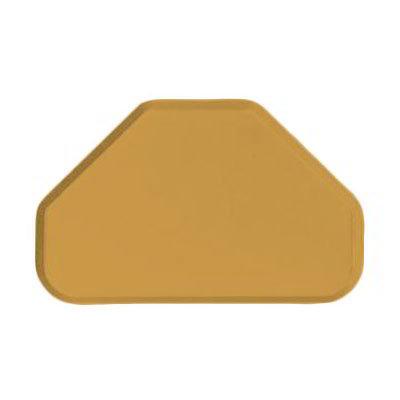 "Carlisle 2214FG023 Trapezoid Cafeteria Tray - 22x14"" Gold"
