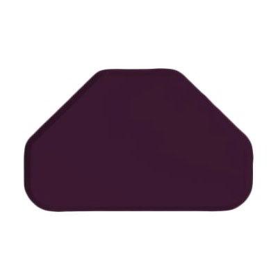 "Carlisle 2214FG052 Trapezoid Cafeteria Tray - 22x14"" Amethyst"