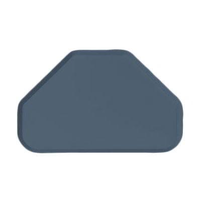 "Carlisle 2214FG067 Trapezoid Cafeteria Tray - 22x14"" Slate Blue"