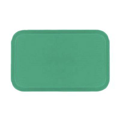 Carlisle 2310FG007 Rectangular Cafeteria Tray - 58.9x23.8cm, Tropical Green