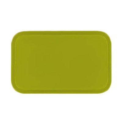 Carlisle 2310FG008 Rectangular Cafeteria Tray - 58.9x23.8cm, Avocado