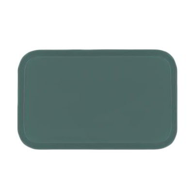 Carlisle 2310FG010 Rectangular Cafeteria Tray - 58.9x23.8cm, Forest Green