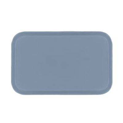Carlisle 2310FG012 Rectangular Cafeteria Tray - 58.9x23.8cm, Sea Spray