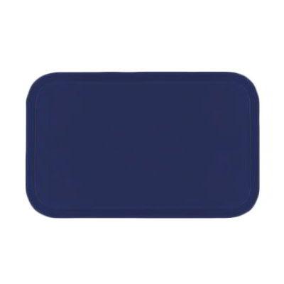 Carlisle 2310FG014 Rectangular Cafeteria Tray - 58.9x23.8cm, Cobalt Blue