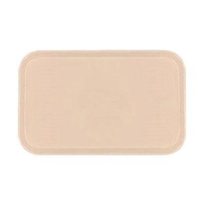 Carlisle 2310FG016 Rectangular Cafeteria Tray - 58.9x23.8cm, Peach