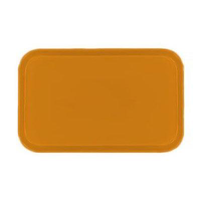 Carlisle 2310FG019 Rectangular Cafeteria Tray - 58.9x23.8cm, Rust
