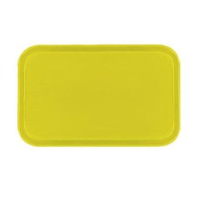 Carlisle 2310FG021 Rectangular Cafeteria Tray - 58.9x23.8cm, Pineapple