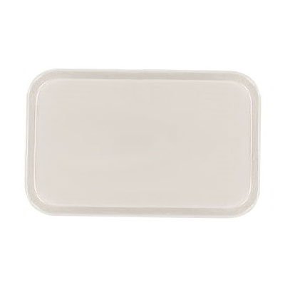 Carlisle 2310FG022 Rectangular Cafeteria Tray - 58.9x23.8cm, Ivory