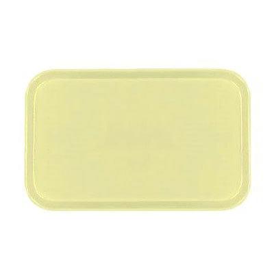 Carlisle 2310FG024 Rectangular Cafeteria Tray - 58.9x23.8cm, Lemon