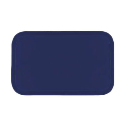 Carlisle 2310FG050 Rectangular Cafeteria Tray - 58.9x23.8cm, Sapphire Blue