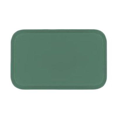 Carlisle 2310FG053 Rectangular Cafeteria Tray - 58.9x23.8cm, Jade
