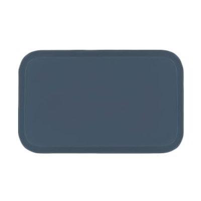 Carlisle 2310FG067 Rectangular Cafeteria Tray - 58.9x23.8cm, Slate Blue