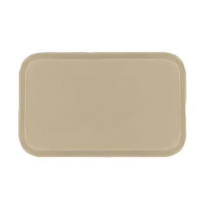 Carlisle 2310FG095 Rectangular Cafeteria Tray - 58.9x23.8cm, Almond