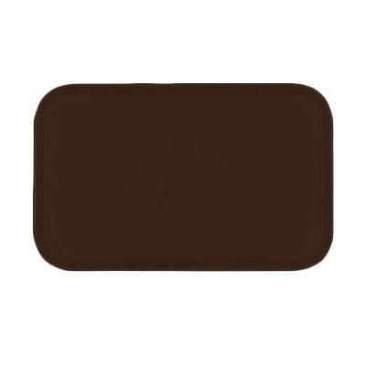 Carlisle 2310FG127 Rectangular Cafeteria Tray - 58.9x23.8cm, Chocolate