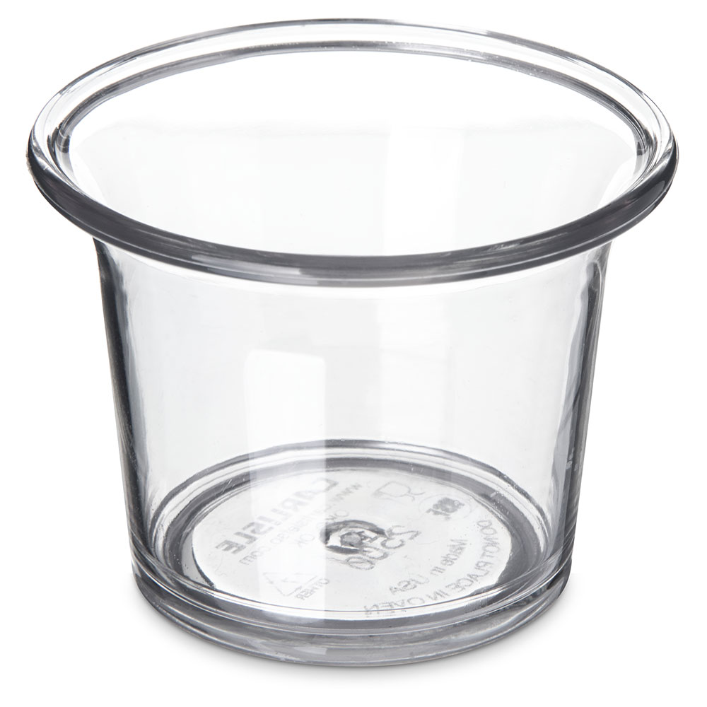 Carlisle 250007 2-1/2-oz Sauce Cup - Clear