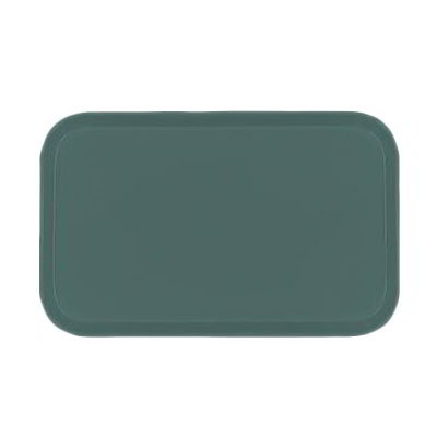 Carlisle 2637FG010 Rectangular Cafeteria Tray - 37x26.5cm, Forest Green