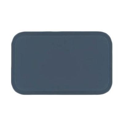 Carlisle 2637FG067 Rectangular Cafeteria Tray - 37x26.5cm, Slate Blue