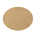 Carlisle 301900 Oval Cork Tray Liner Replacement - 19x24