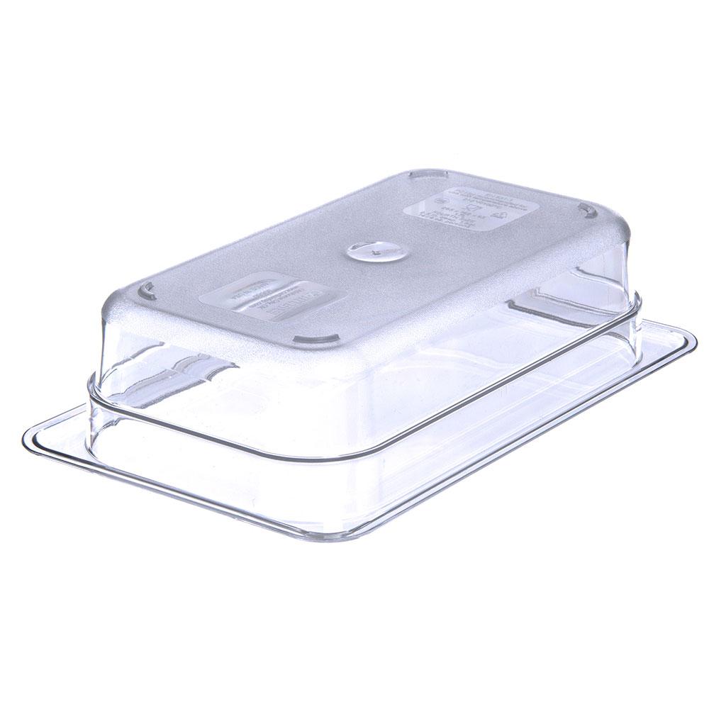 "Carlisle 3068007 1/4 Size Food Pan - 2-1/2""D, Clear"