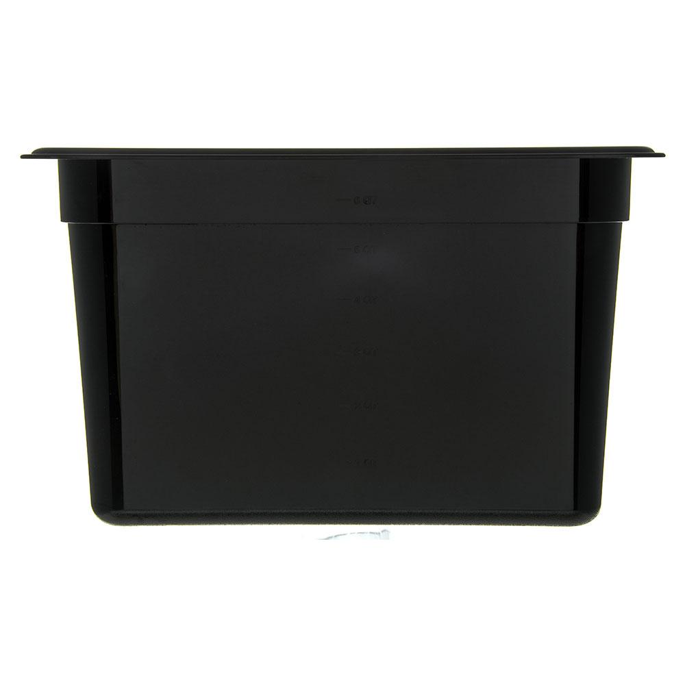 "Carlisle 3086903 StorPlus High Heat Food Pan - 1/3 Size, 8""D, Black"