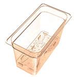 Carlisle 3087013 1/3 Size High Heat Drain Shelf - Amber
