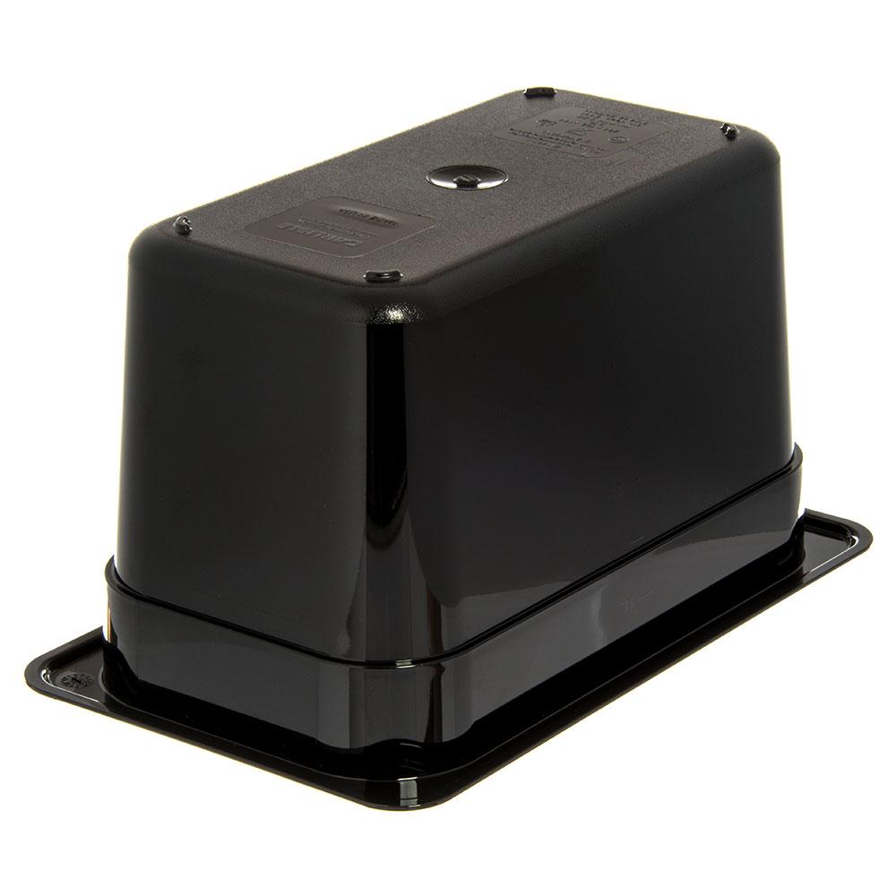 "Carlisle 3088203 StorPlus High Heat Food Pan - 1/4 Size, 6""D, Black"